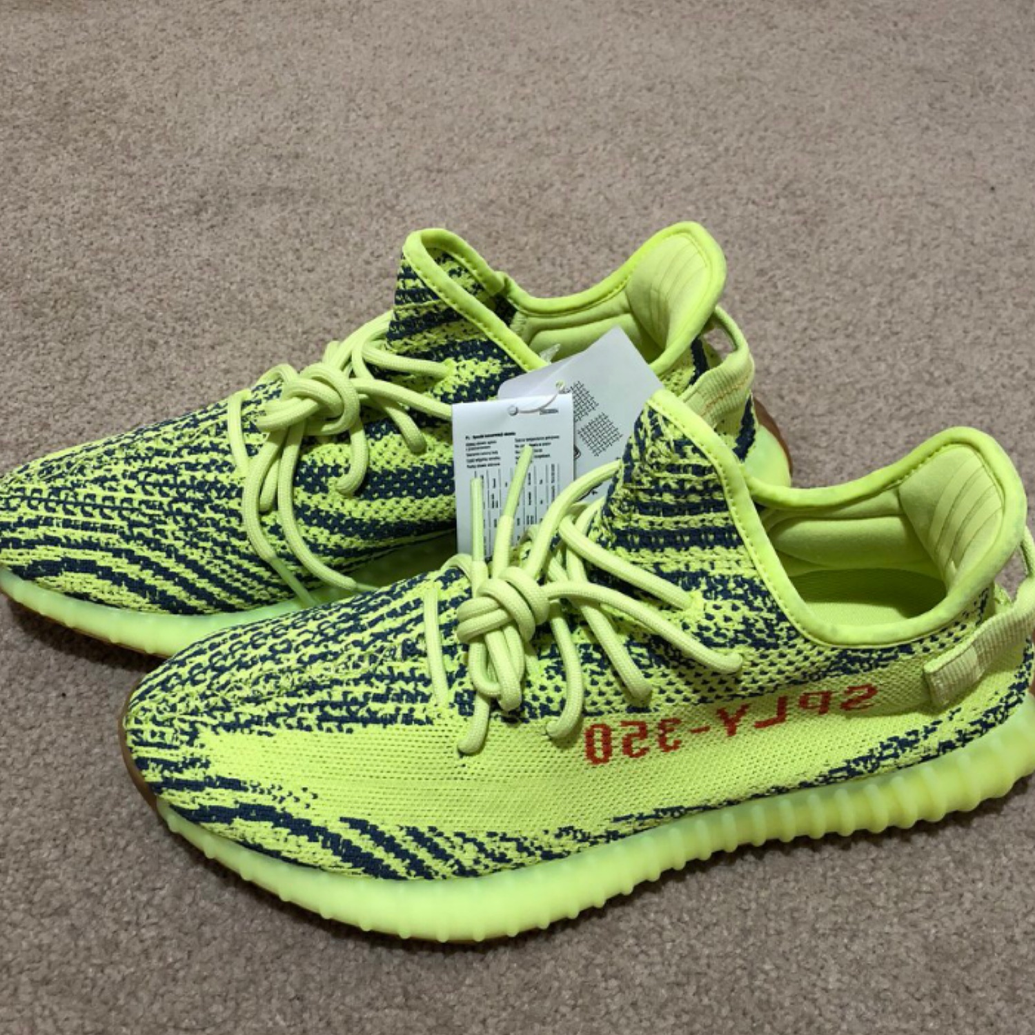 the best attitude e0b05 d97bd Adidas Yeezy Boost 350 V2 Frozen Yellow Og