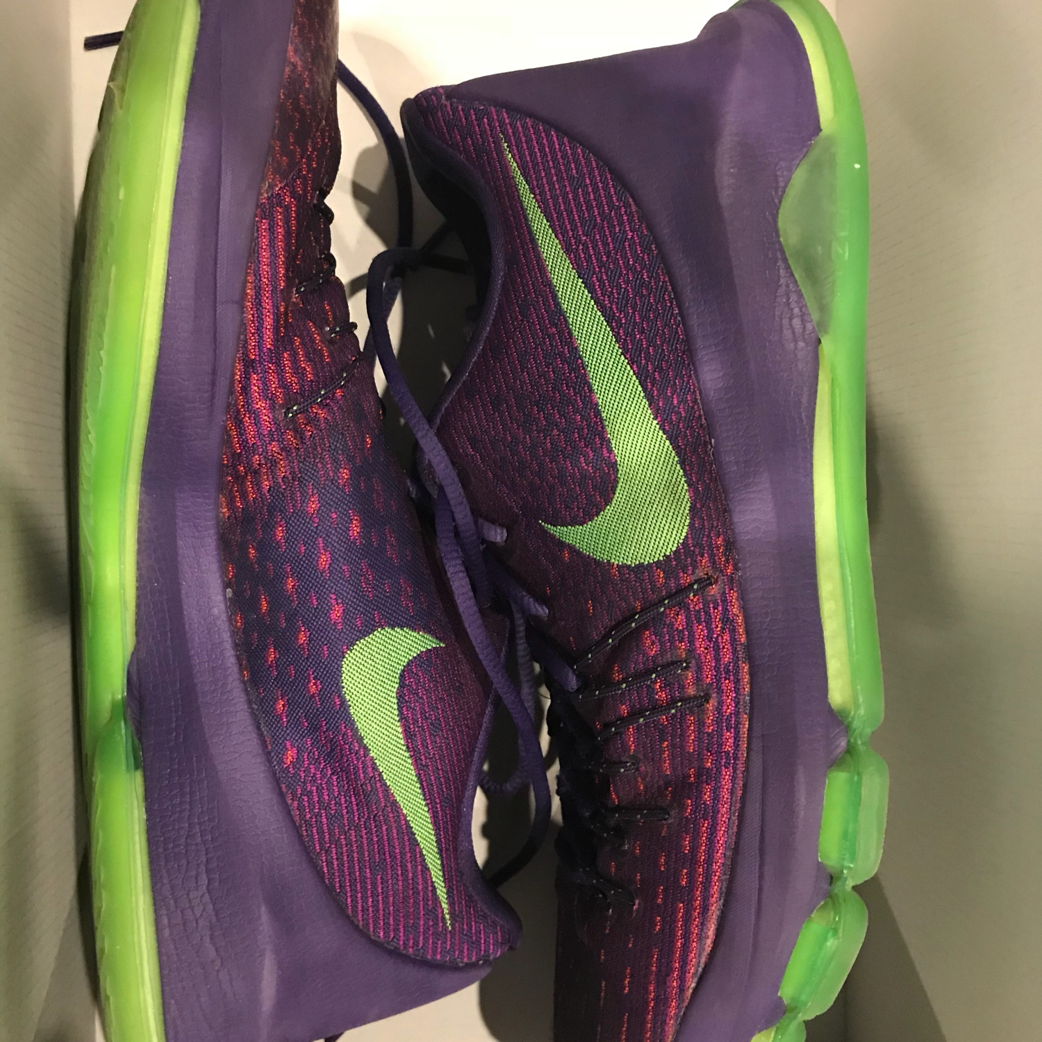 sale retailer 8476a 28f9a Nike Kd 8 Purple And Green