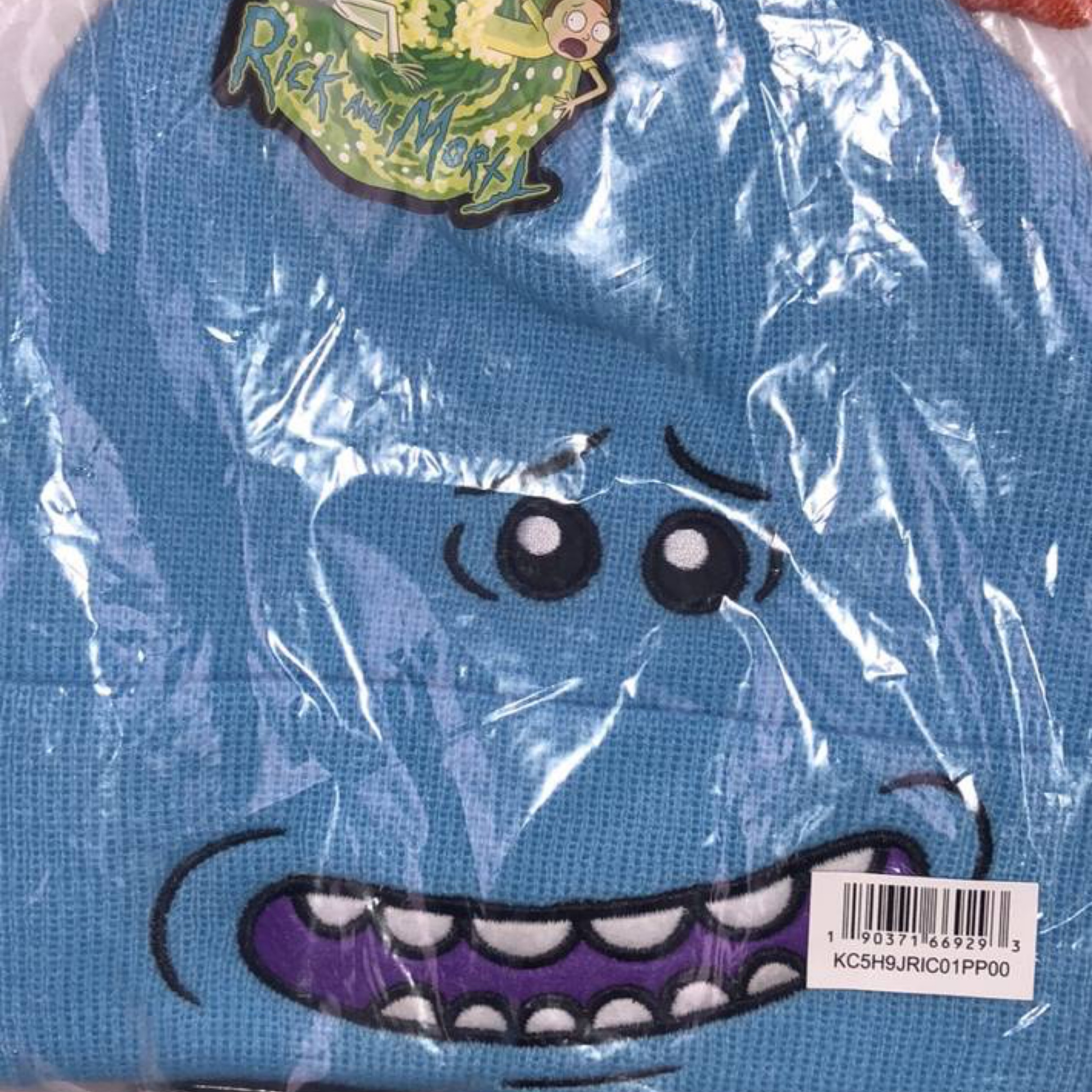 New Mr. Mecees Beanie From Rick & Morty