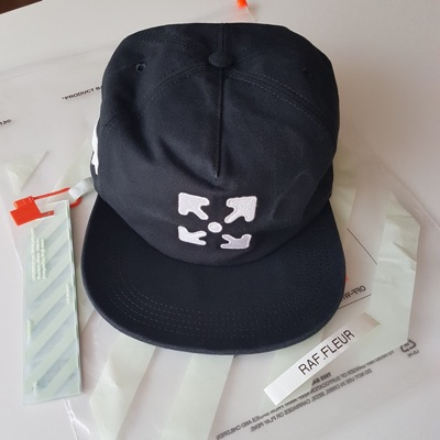 Off White Arrows Embroidered Cap
