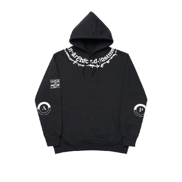 Palace Barbed Hood Black