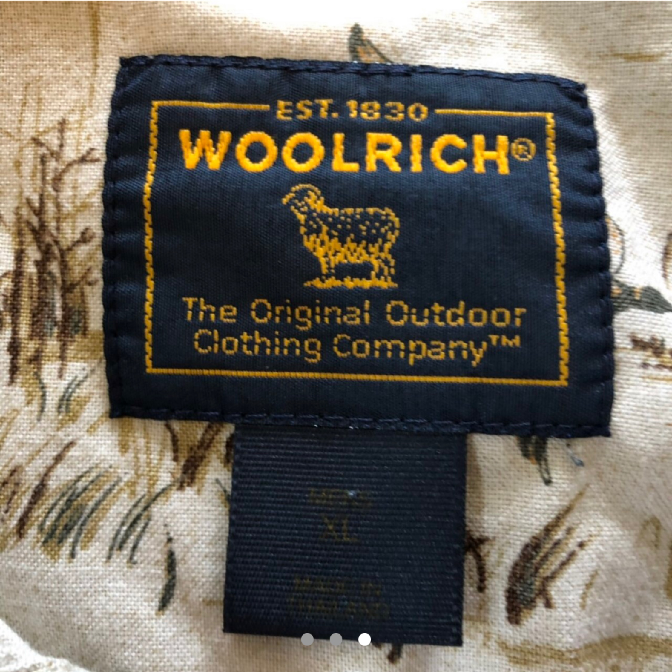 quality design 68406 d5453 Vintage 90'S Woolrich Duck All Over Print Shirt