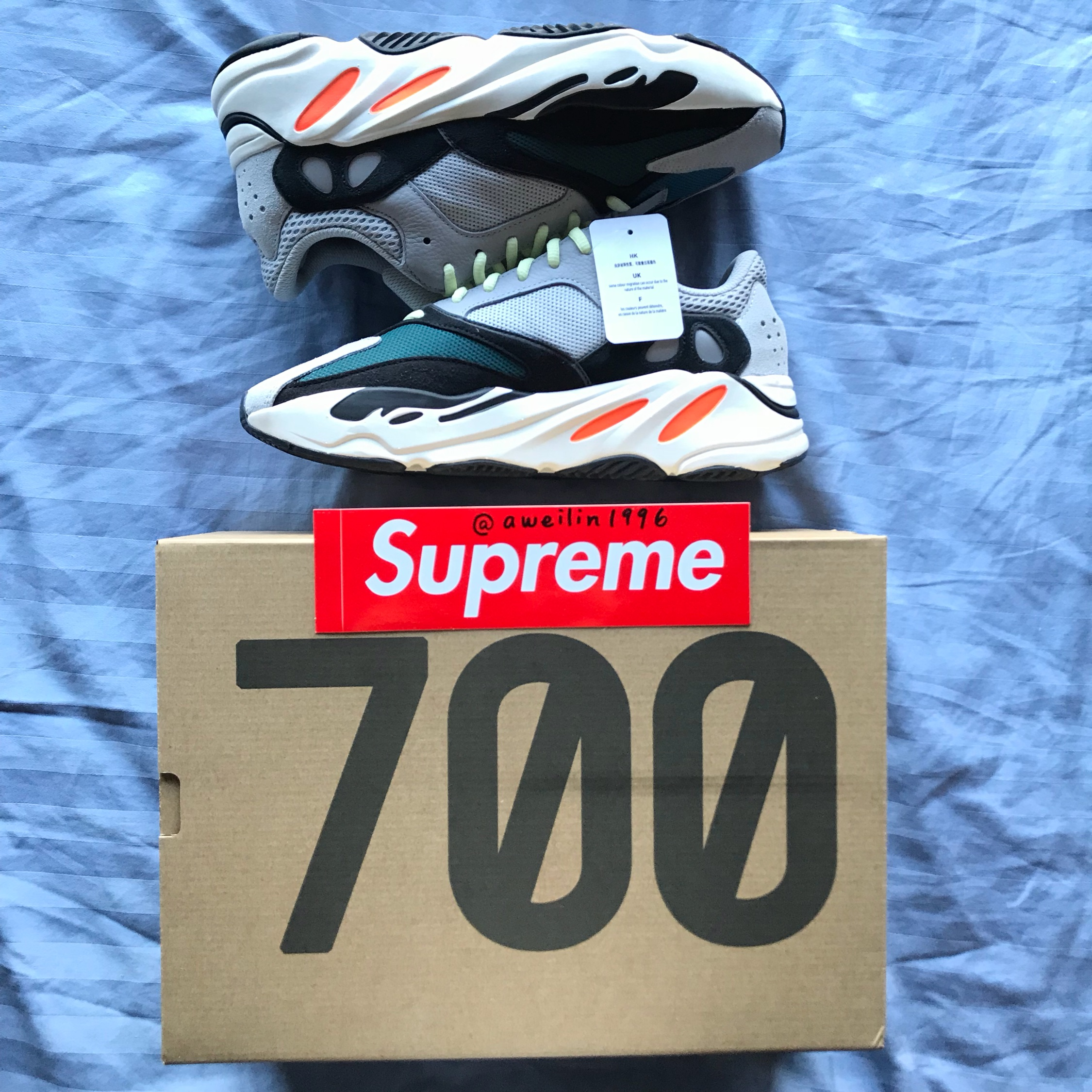 finest selection b03c5 2e124 Adidas Yeezy Wave Runner 700 Solid Grey
