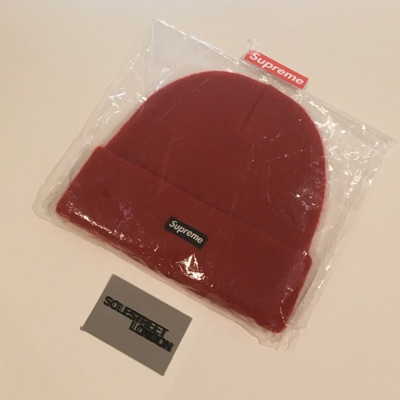 Supreme Fw19 Red Mohair Beanie *In Hand*