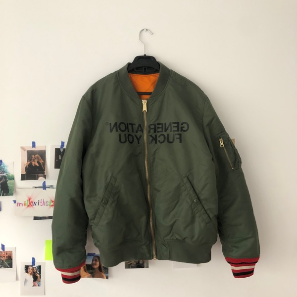 Supreme X Undercover Generation Fuck You Bomber