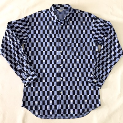 Authentic Comme Des Garcons Casual Checkered Shirt