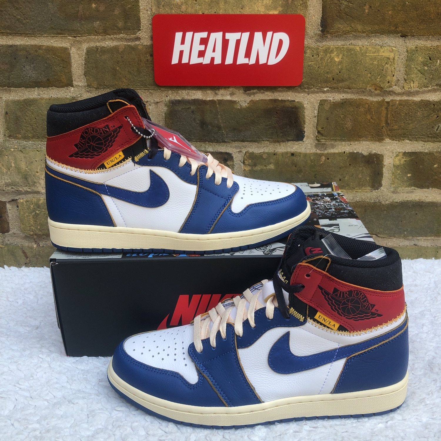 Union X Air Jordan 1 Retro Hi Nrg / Un