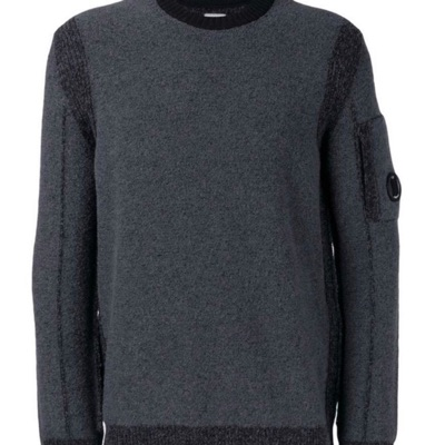 Cp Company Dark Grey Jumper
