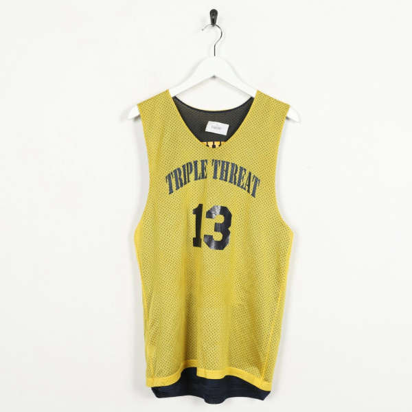 Vintage USA Triple Threat 13 Reversible Basketball Jersey | Small S