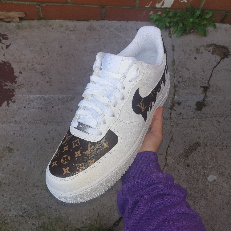 custom made air force 1 louis vuitton