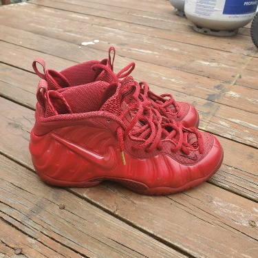 Air Foamposite Pro Red October