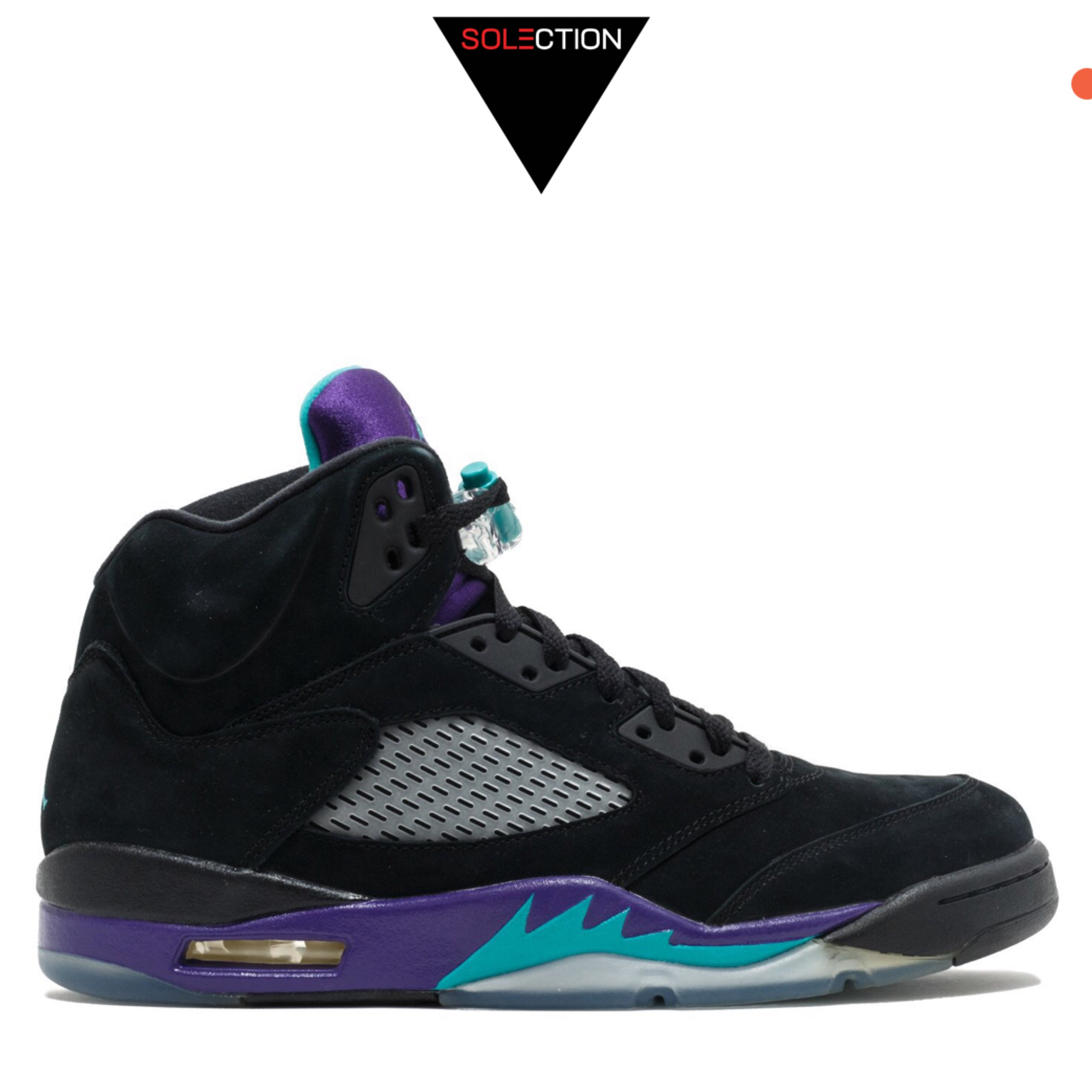 check out ba9c4 6bece Nike Air Jordan 5 Retro Black Grape