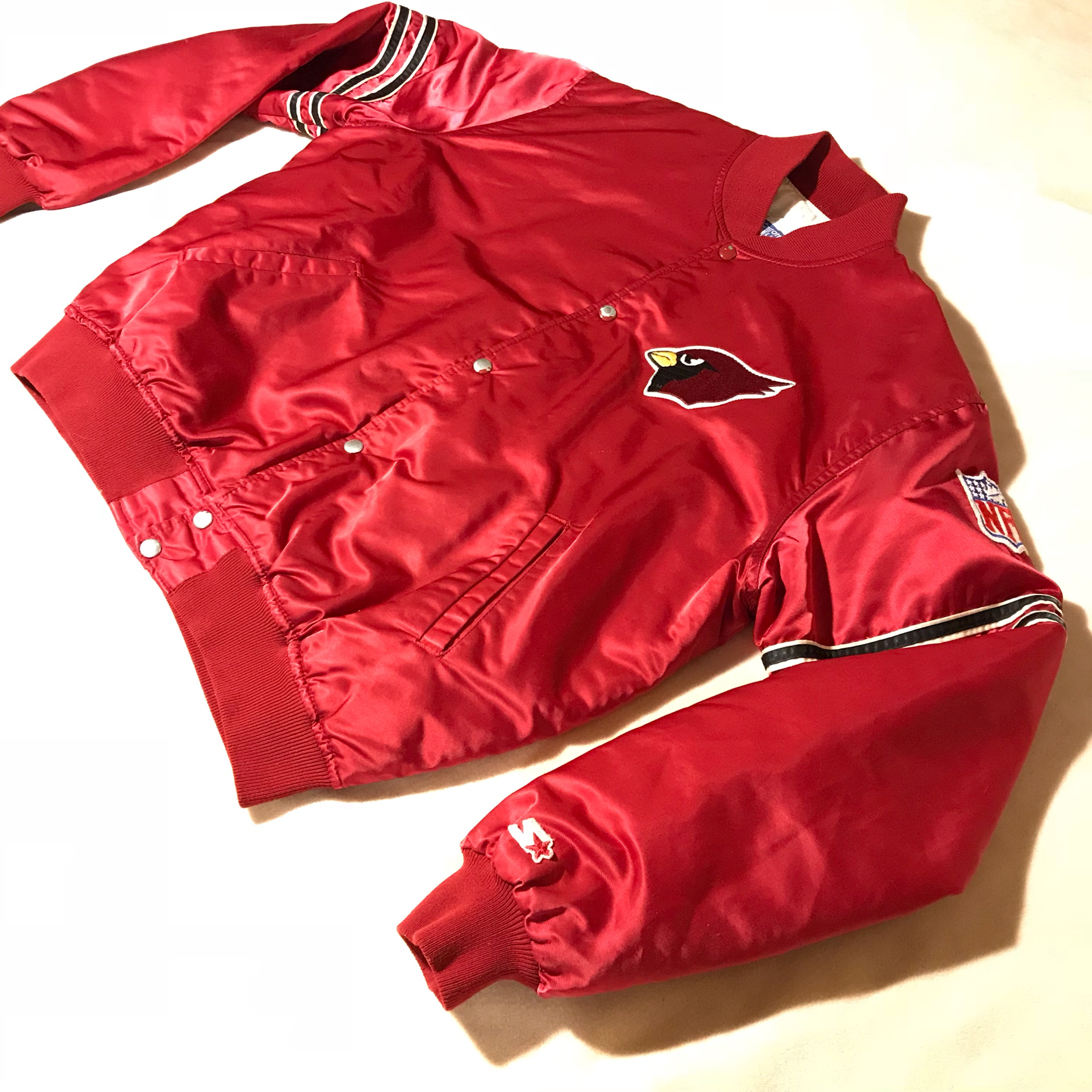 67b09397 Vintage Starter Arizona Cardinals Jacket Retro