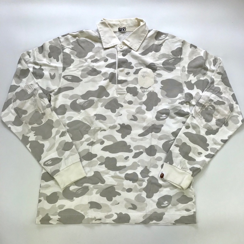 Bape CamoRugby top