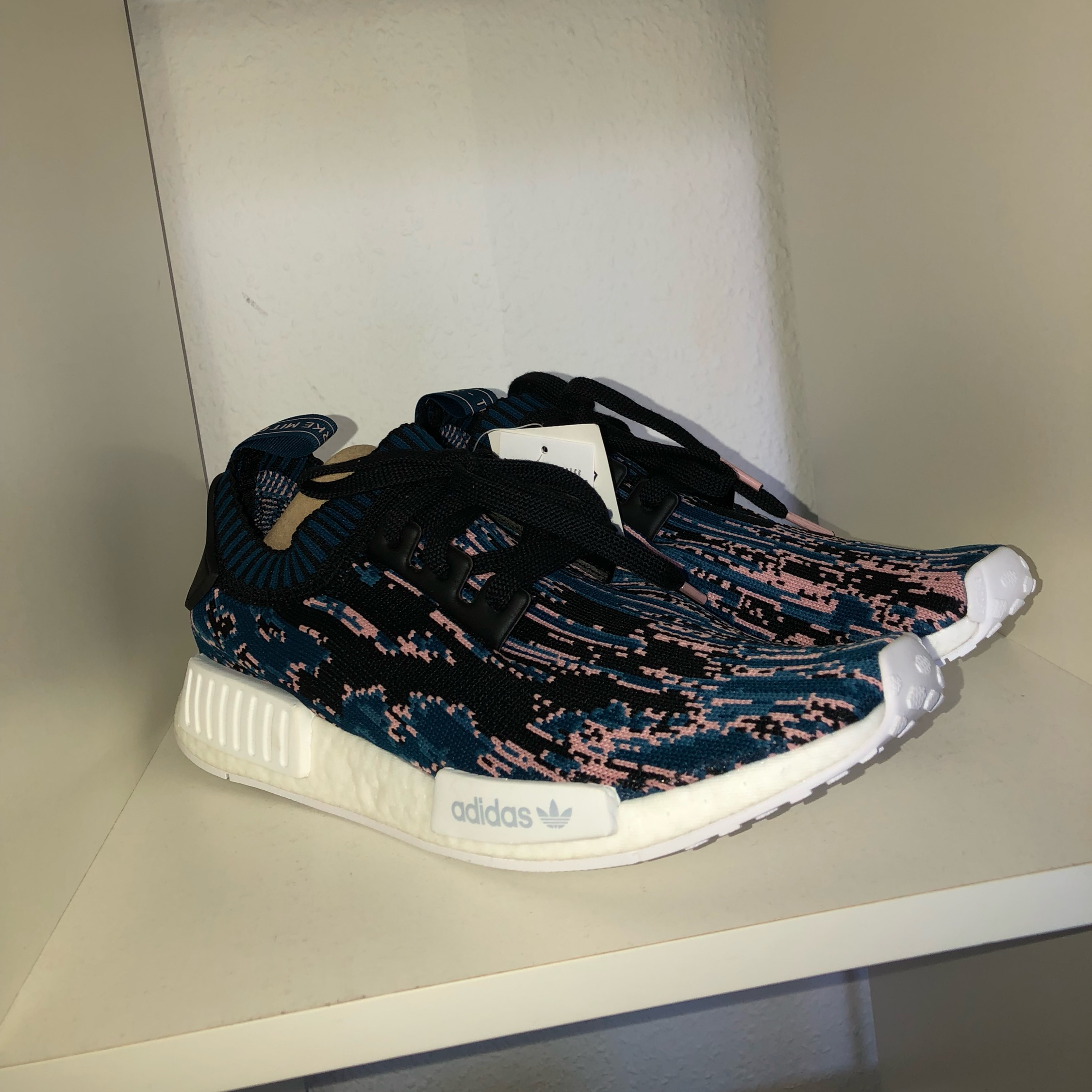 new style be826 a2c2a Adidas Nmd R1 Sns Datamosh 2.0 Blue Night