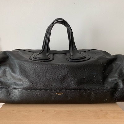 Givenchy Nightingale Distressed Leather Duffle