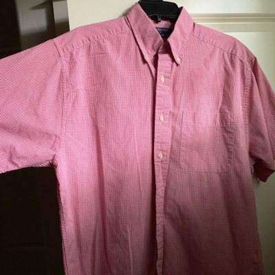 Vintage 'Hathaway Sport' Button-Up Shirt (Medium)
