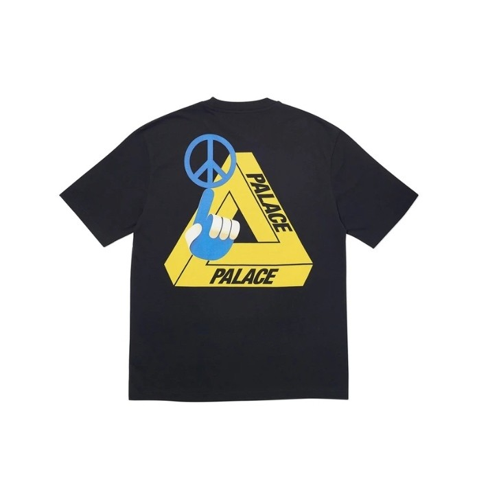 Palace Tri-Smiler T-Shirt Black