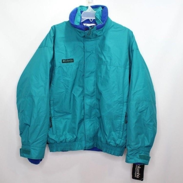 Vintage Columbia 2 In 1 Jacket Parka Fleece