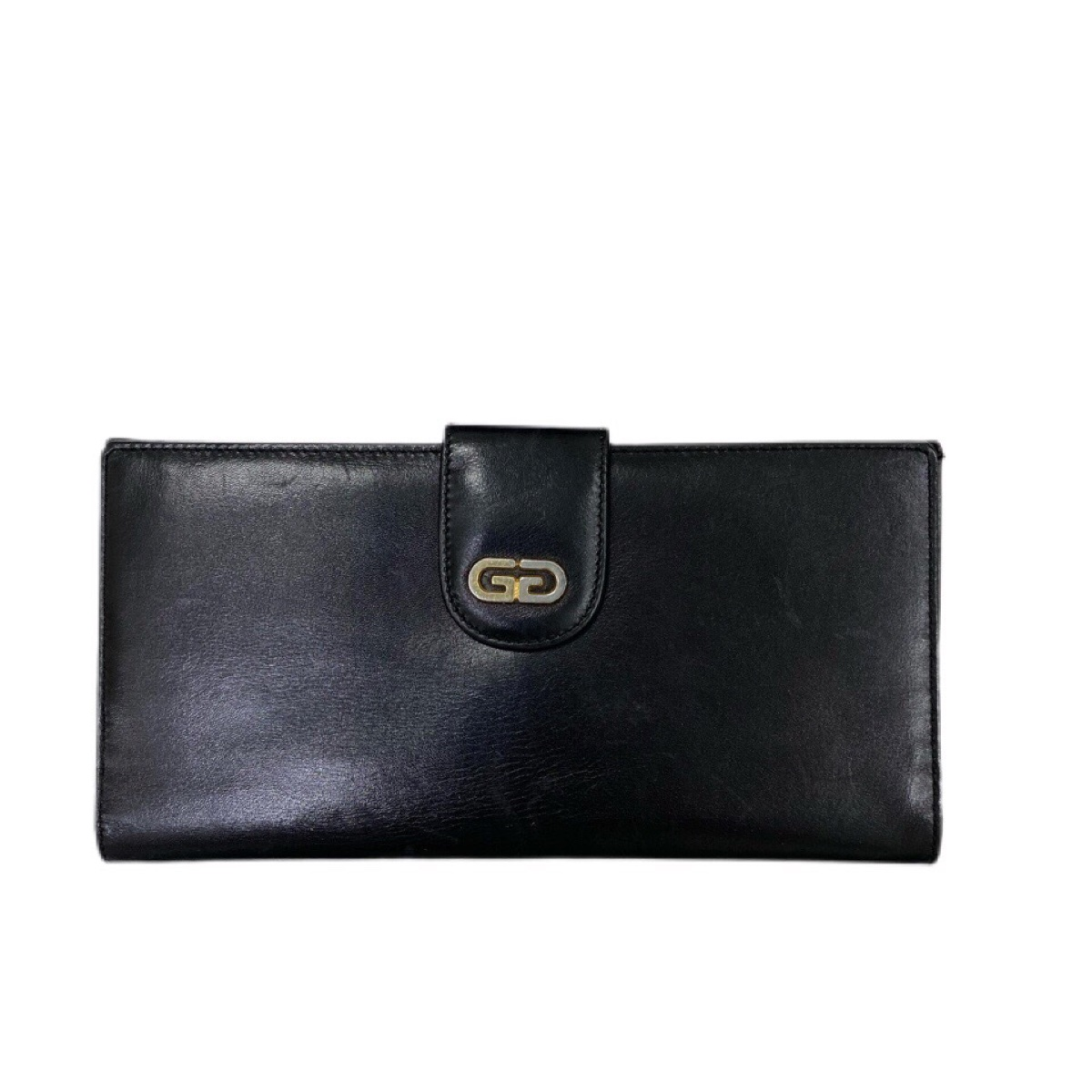 Gucci vintage black long wallet/purse