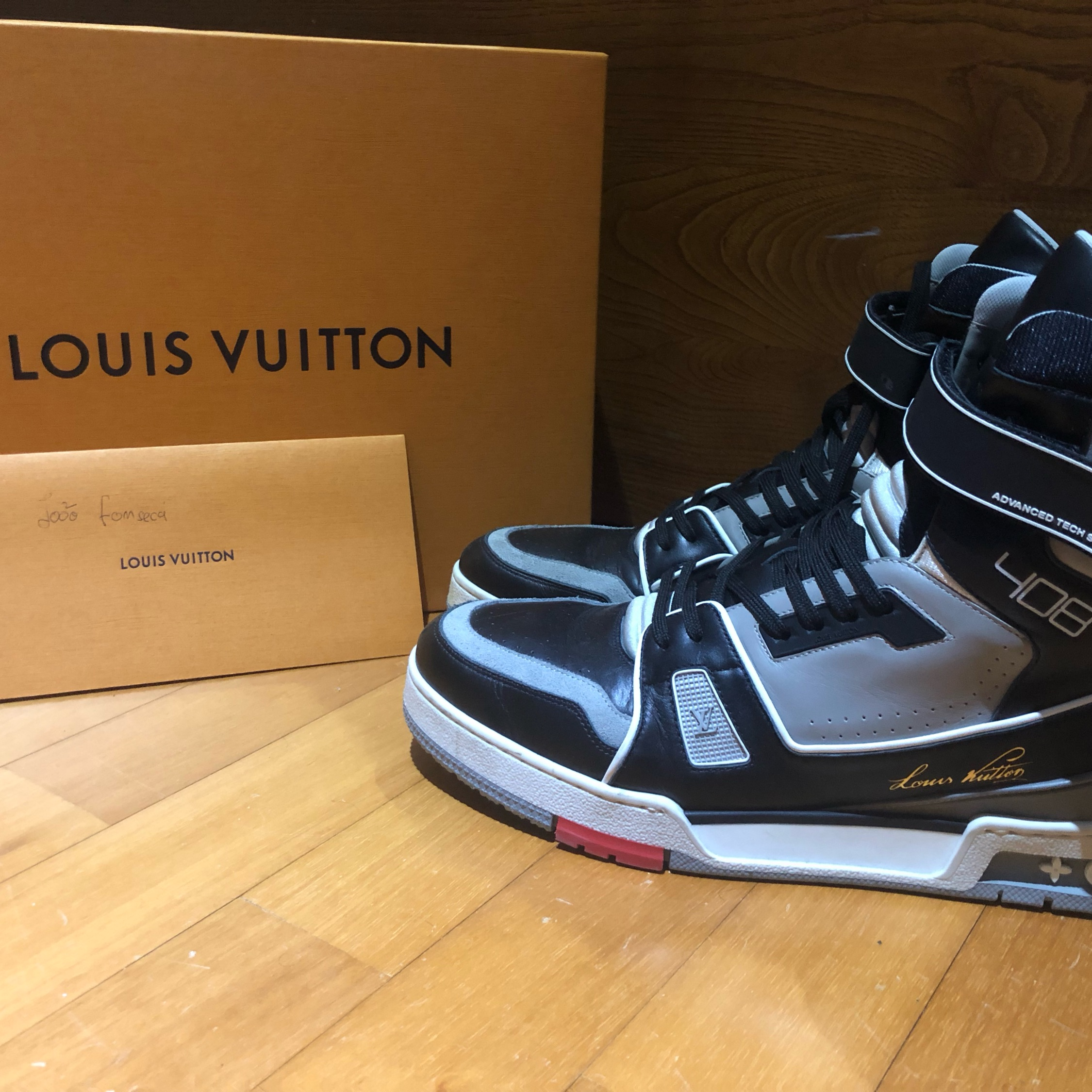 bd432a3f047 Louis Vuitton Lv Trainer Sneakers