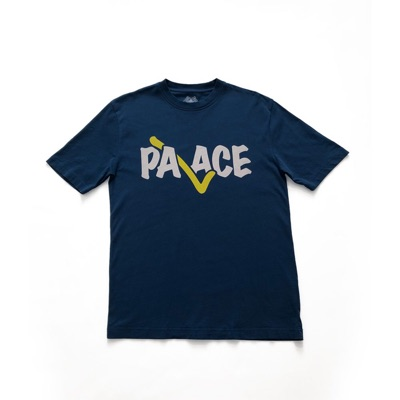 Palace Correct Tee Blue Size Medium