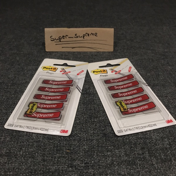 Supreme Post It Flags X2 (Offers)