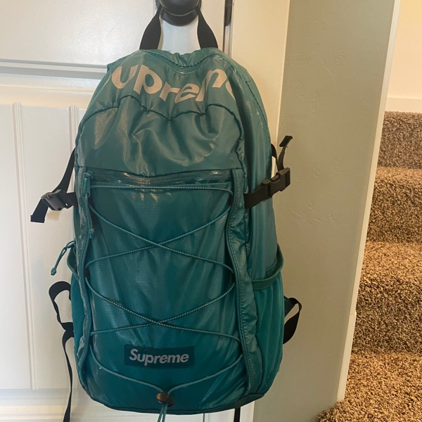 Supreme SS17 Backpack Teal