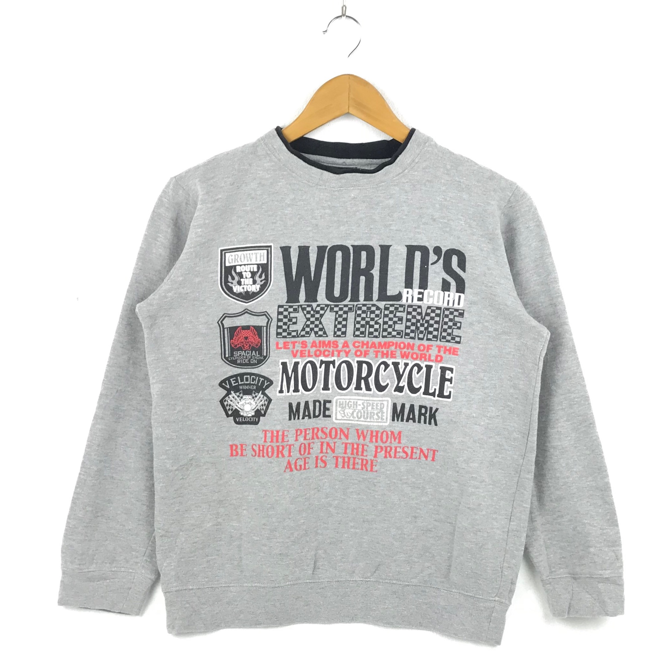 Vintage Motorcycle Sweatshirt Motorsports Fashion