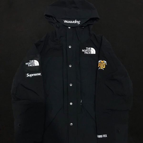 Supreme X Tnf Rtg Jacket Only Black Small Dswt