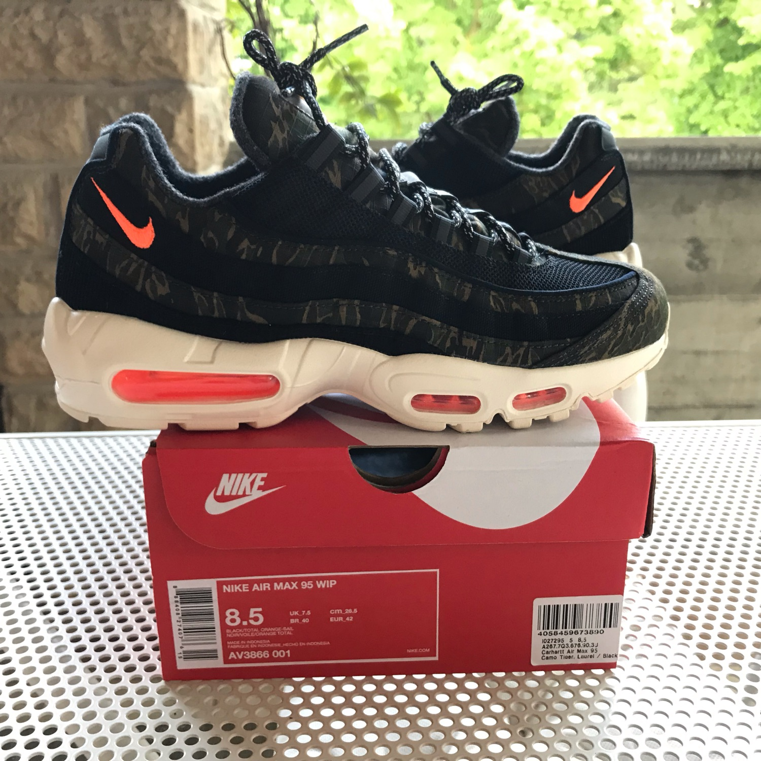 official photos 7df04 ca28b Nike Air Max 95 Carhartt Wip
