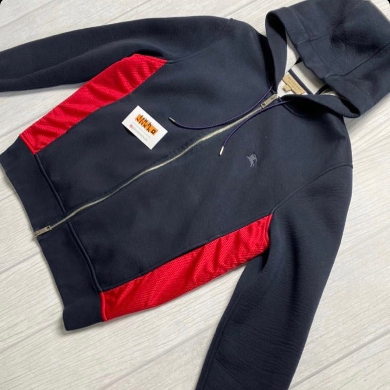 Burberry Zip Up Hoodie