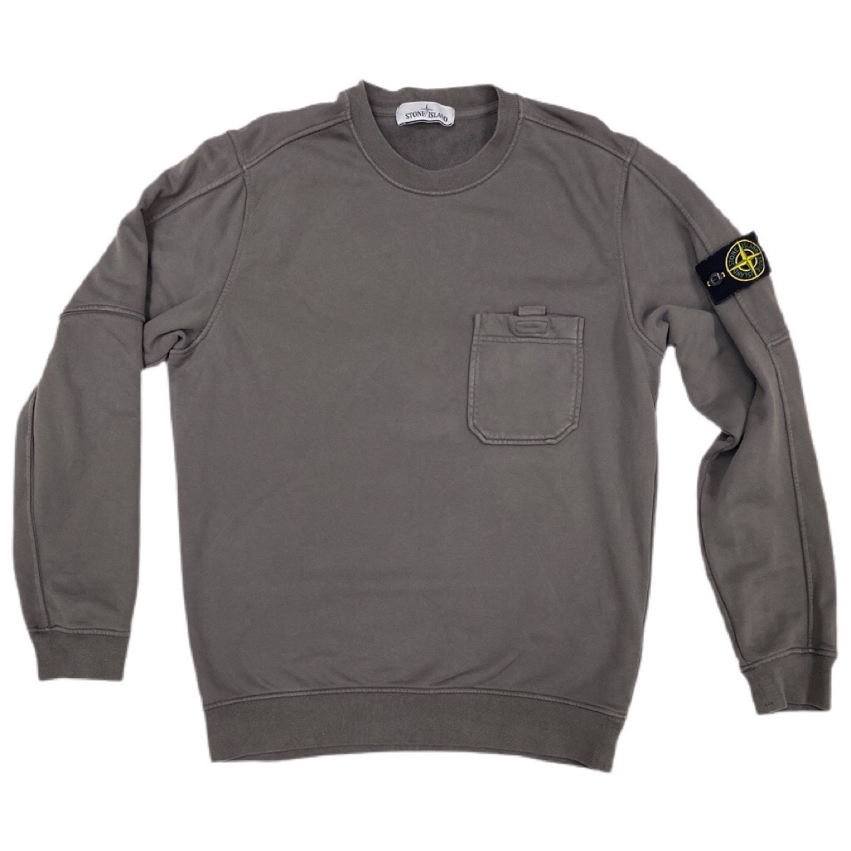 Authentic stone island charcoal jumper