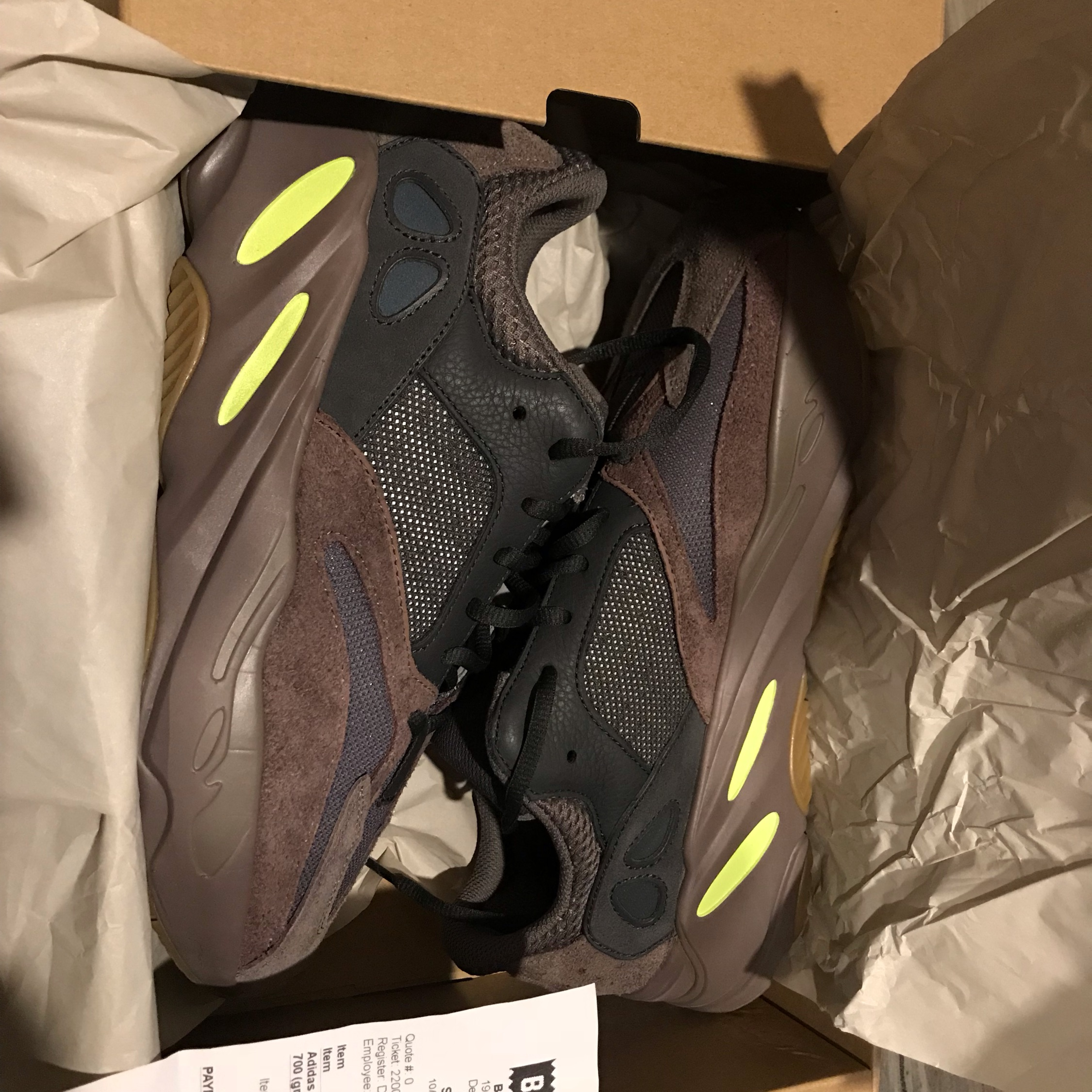 new product a310a aa07b Yeezy 700 Mauve For Retail