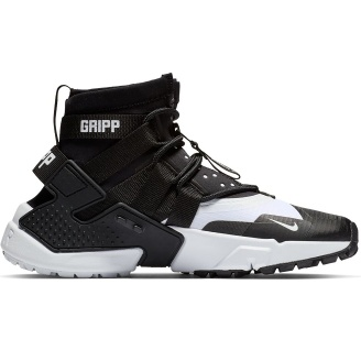 Air Hurache Gripp Black White