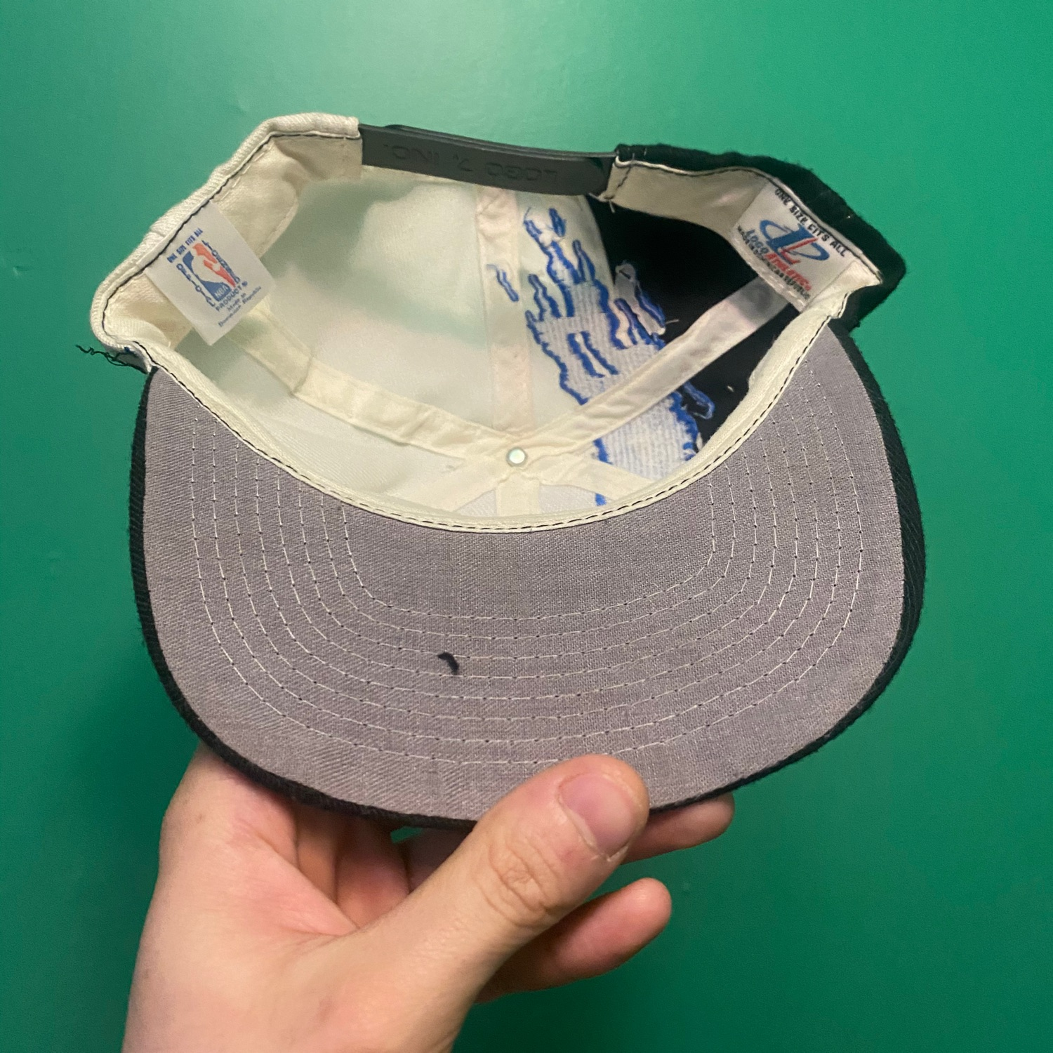 Orlando Magic Logo Athletic Splash Hat Vtg