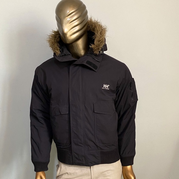 Helly Hansen Bomber Puffer Hooded Jacket Size M