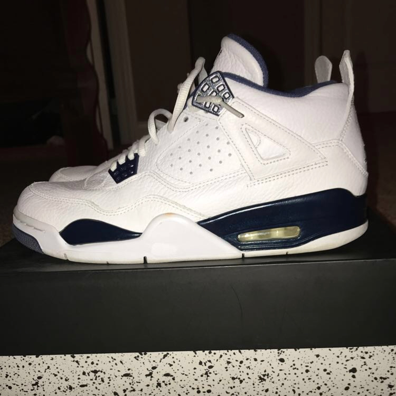 super popular 5739f cab0a Air Jordan 4 Legend Blue