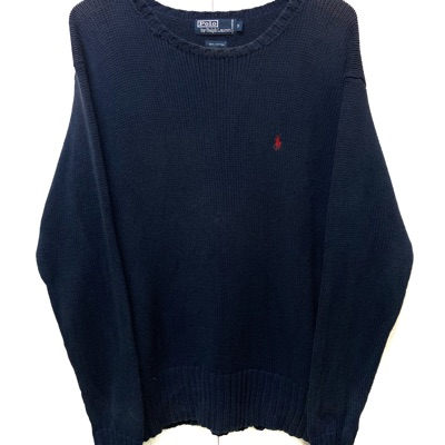 Navy Blue Polo Ralph Lauren Knitwear Cardigan