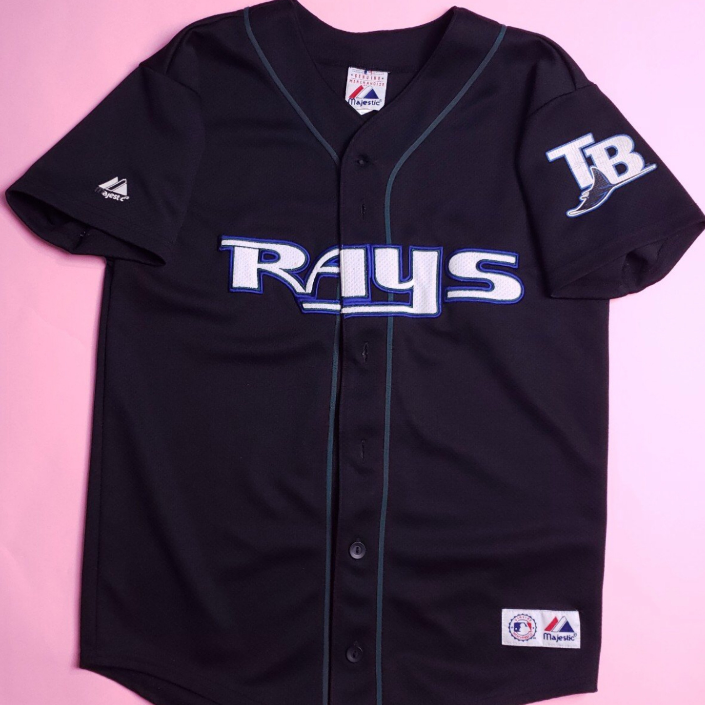 new arrival 3faa4 d56d7 Vintage Tampa Bay Devil Rays Jersey