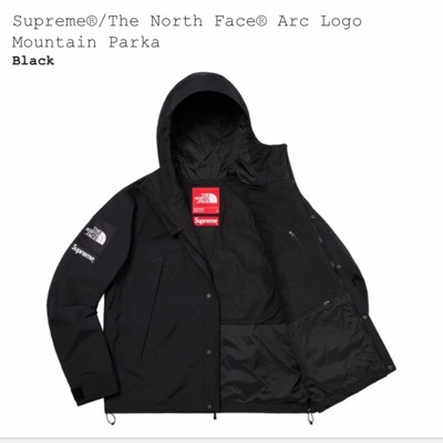 Supreme The North Face Parka - Size M