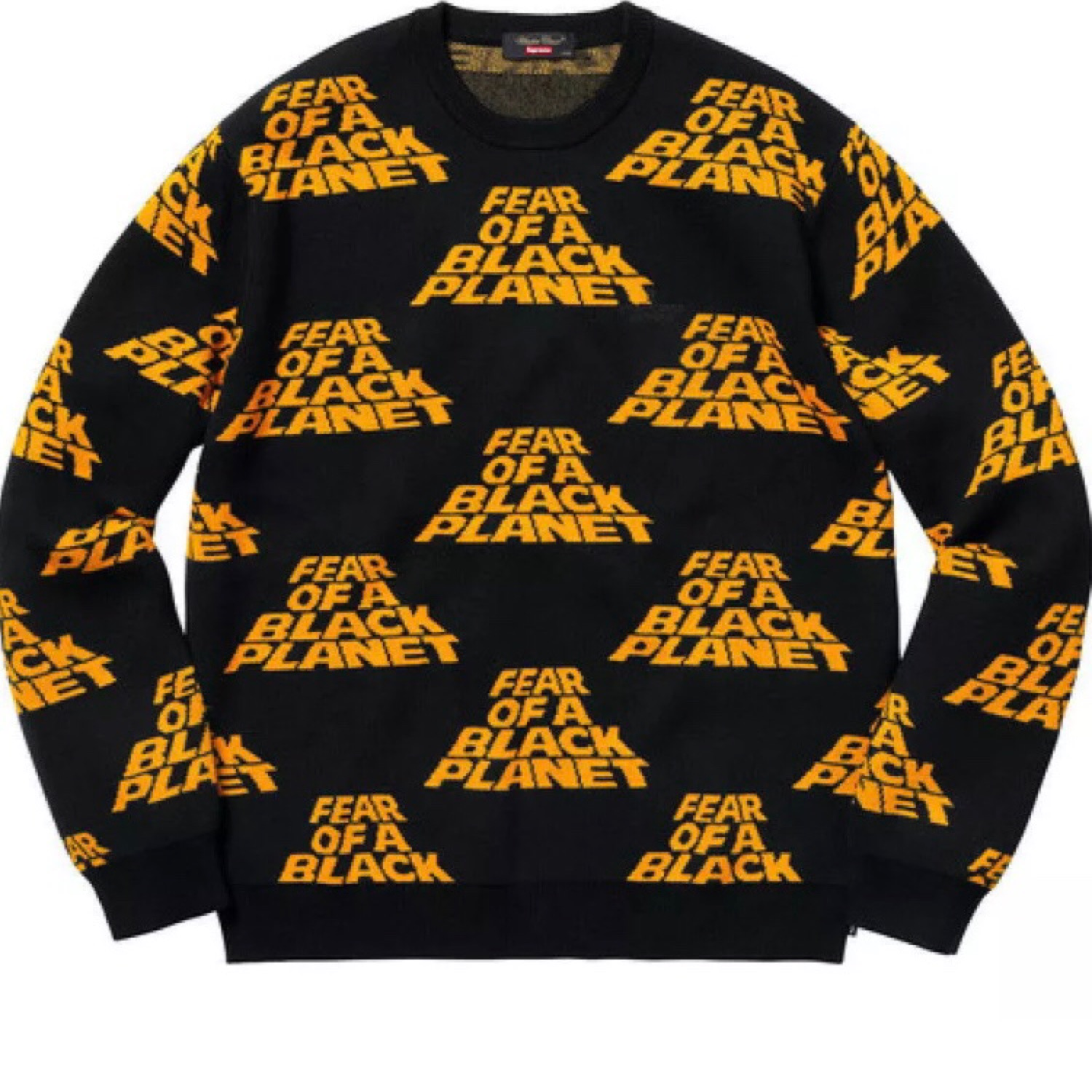 detailed images purchase cheap unequal in performance Supreme Fear Of A Black Planet Sweatshirt