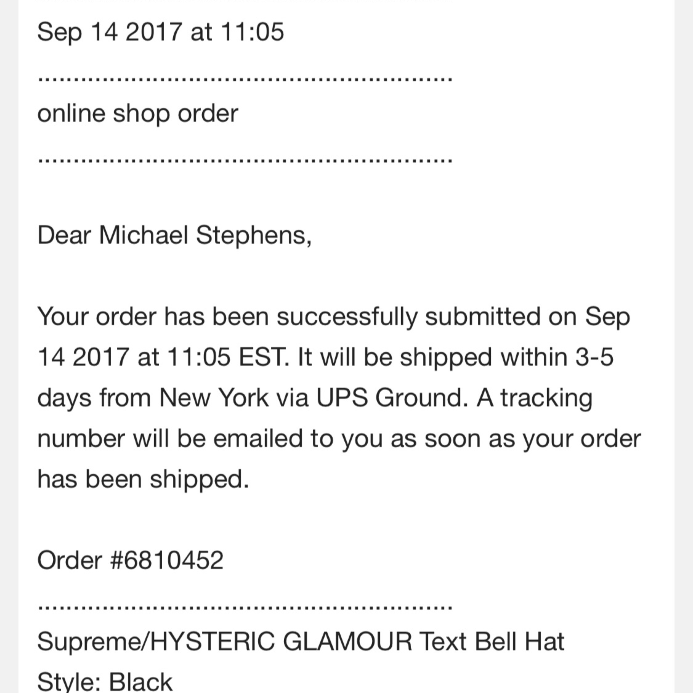 6bd15c2b6b7 Supreme X Hysteric Glamour Week 4 Text Bell Hat