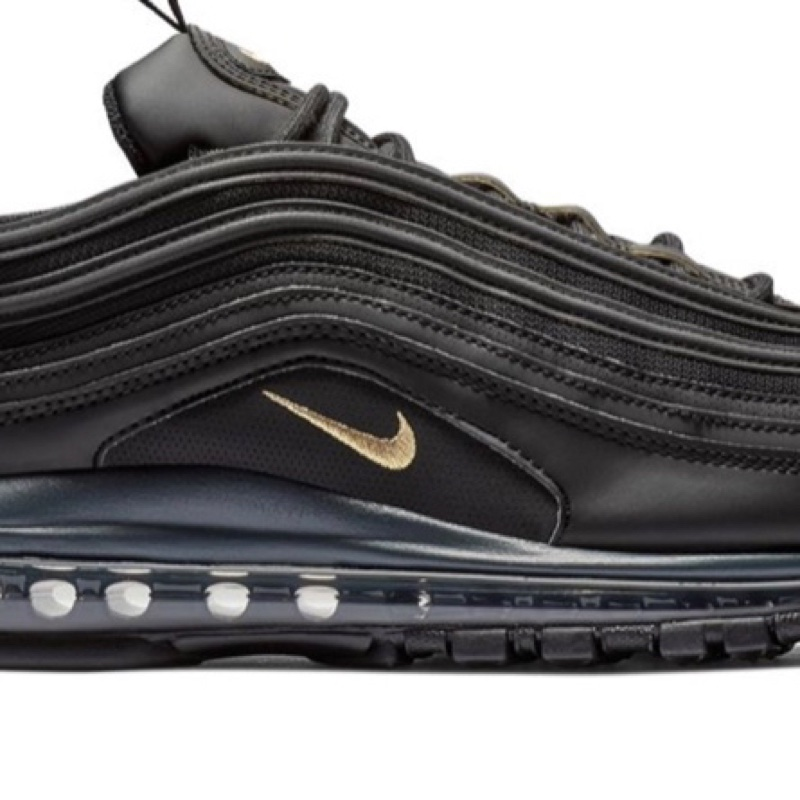 Air Max 97 Leather Black Gold