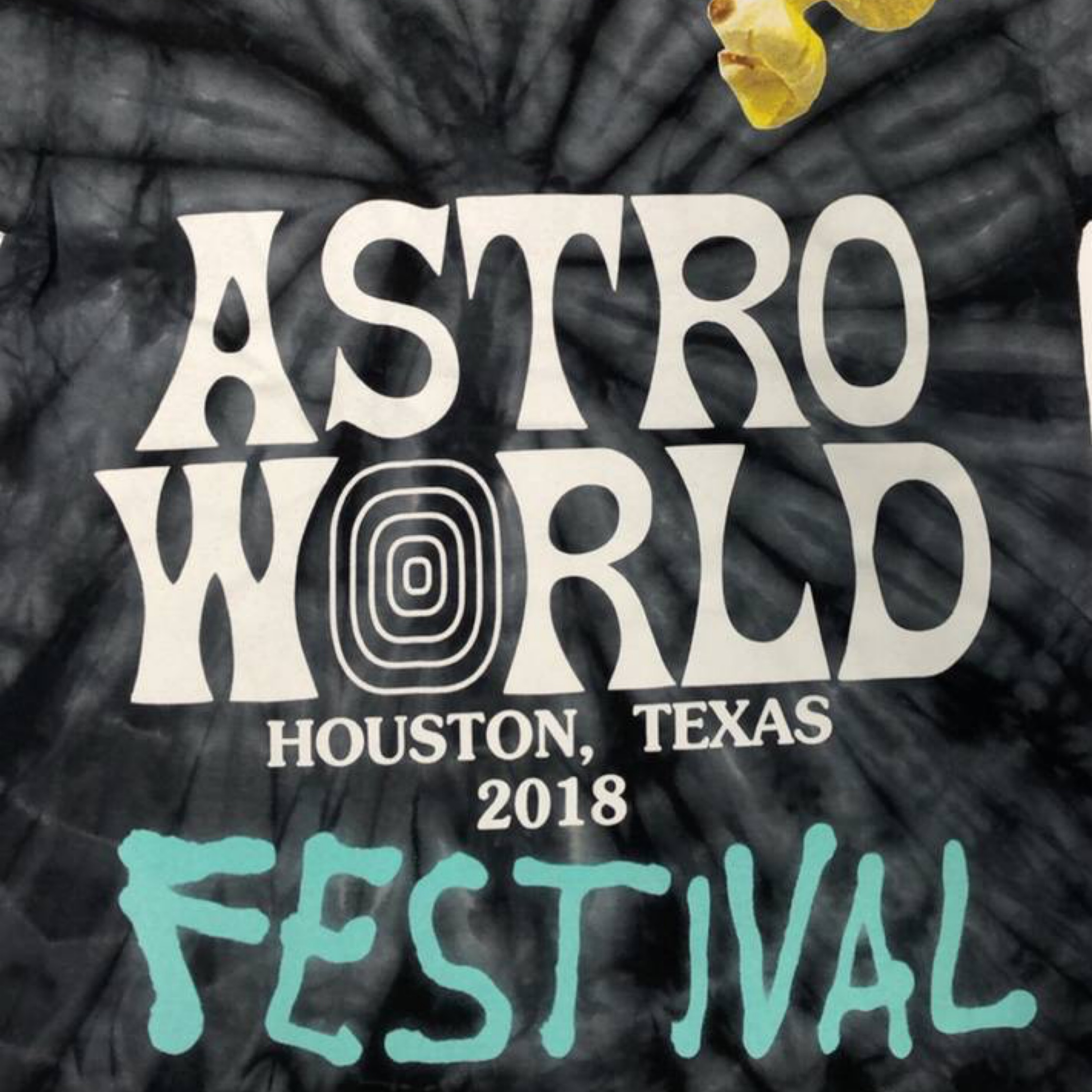New Astroworld Fest Exclusive Tee Size Xl