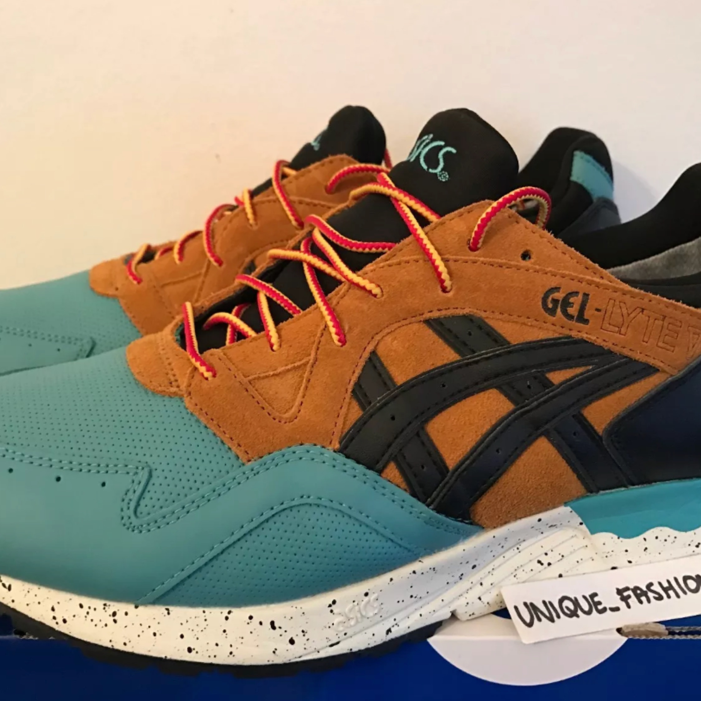finest selection 0a88f dec64 Asics Gel Lyte V 5 Goretex Us11 Kingfisher