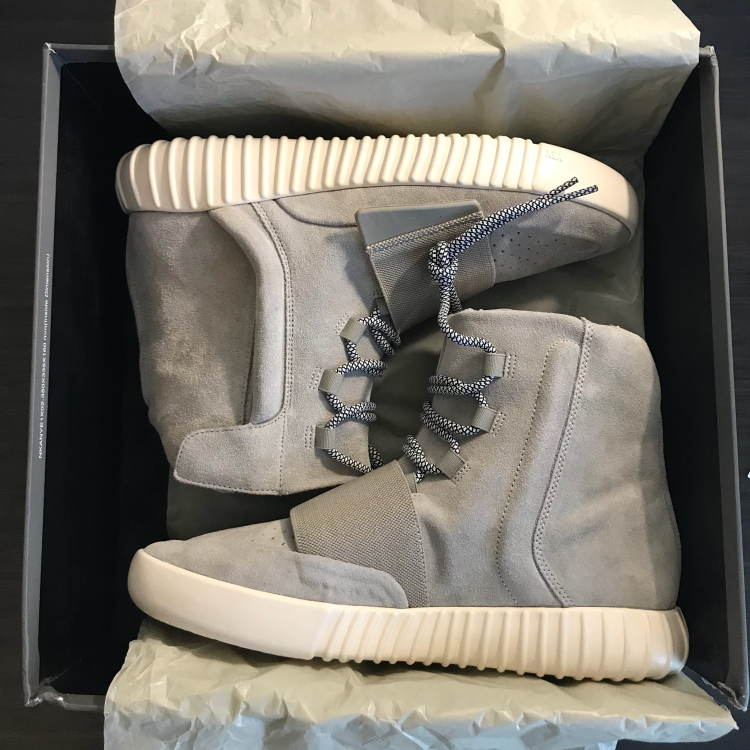 100% authentic f3d84 f9035 Adidas Yeezy Boost 750 Og Light Brown