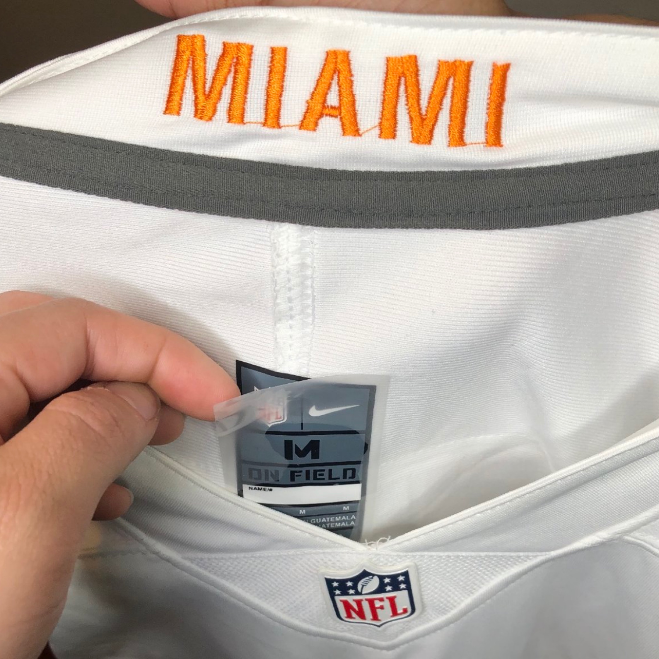 the latest 61f39 c55ca Nike Miami Dolphins Wake Jersey