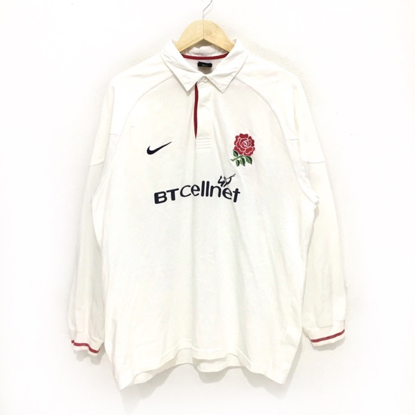 Vtg England Rugby World Cup Nike Jersey Sweater