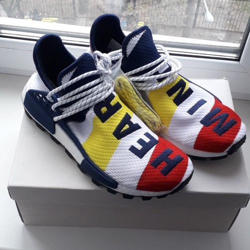 Sneakers Adidas NMD Pharrell Williams BBC (new with box)